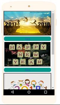New Year 2018 Pics apk screenshot