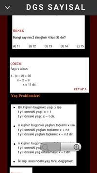 DGS SAYISAL apk screenshot