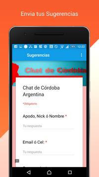 Chat de Córdoba Argentina screenshot 2