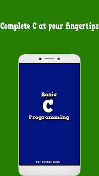 Basic C Programming poster