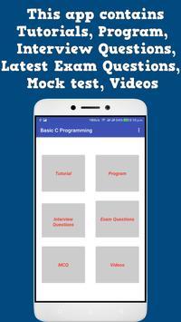 Basic C Programming screenshot 1