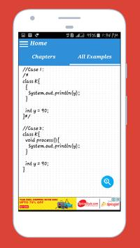 Learn Java By Examples screenshot 1