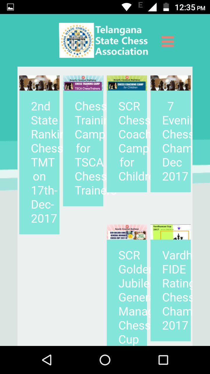 Madison : Chess results com india goa