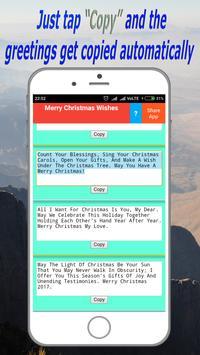 Merry Christmas Wishes 🌟✅(Offline) apk screenshot