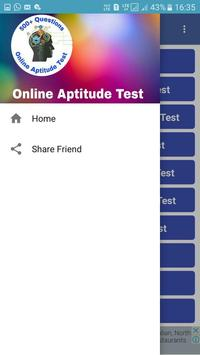 Online aptitude test and preparation,500+questions poster