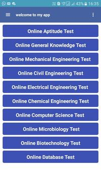 Online aptitude test and preparation,500+questions screenshot 1