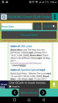 FILE DOWNLOAD: Open Directory Link Finder screenshot 2