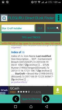 FILE DOWNLOAD: Open Directory Link Finder screenshot 4
