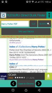 FILE DOWNLOAD: Open Directory Link Finder screenshot 5