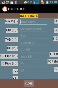 DRILLING HYDRAULIC apk screenshot