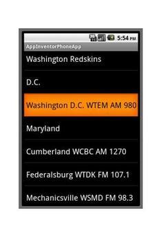 Pro Football Radio '17 screenshot 5