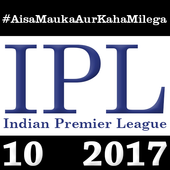 IPL Season 10 2017 icon