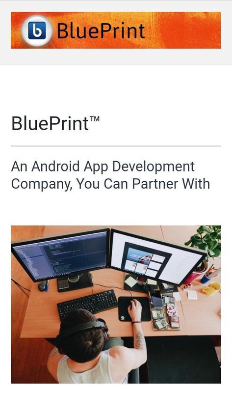 Blueprint app developer apk download free tools app for android blueprint app developer poster malvernweather Images