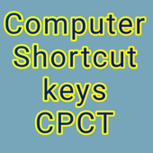 COMPUTER SHORTCUT KEYS FOR CPCT 2018 icon