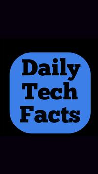 Daily Tech facts poster