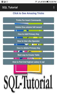 Tricky SQL Questions apk screenshot