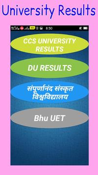 All exam results(10th,12th,ug,pg results) poster