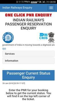 Correct PNR Status poster
