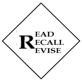 READ RECALL REVISE icon