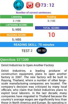 TOEIC 990 FULL TEST Part 2 screenshot 7