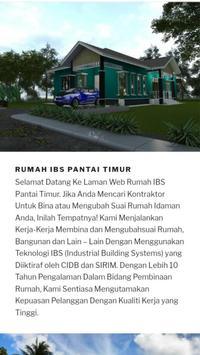 Rumah IBS Pantai Timur - Free Quotation screenshot 2
