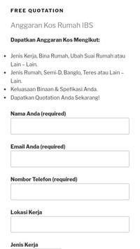 Rumah IBS Pantai Timur - Free Quotation screenshot 4
