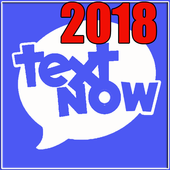 Text Now free text & calls Tricks guide 2018 icon