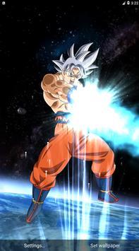 Goku Mastered Ultra Instinct Live Wallpaper 3d For Android Apk Download