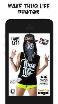 Thug Life Photo Maker poster
