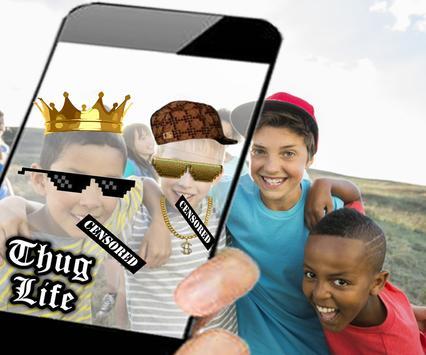Thug Life Camera Live Swap apk screenshot