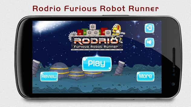 Rodrio: Furious Robot Runner poster