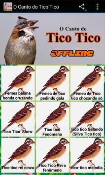 O Canto do Tico Tico apk screenshot