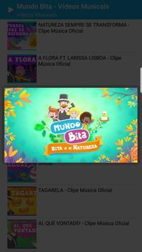 Mundo Bita - Vídeos Musicais screenshot 2