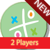Tic Colors Toe 2 players icon