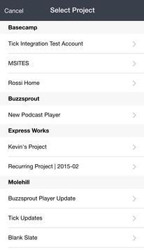 Tick (Time & Budget Tracking) screenshot 1