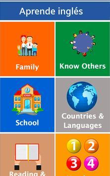 Aprende Inglés - Offline Poster