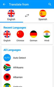 Translate voice - Translator apk screenshot
