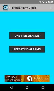 Ticktock Alarm Clock الملصق