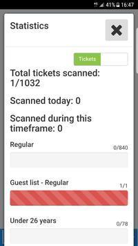 Ticketdivisie Scan Applicatie apk screenshot