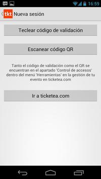 ticketea CheckPoint apk screenshot