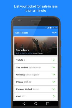 TicketFire - Tickets to Sports, Concerts, Theater apk screenshot