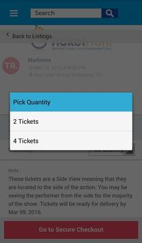 Madonna Tickets screenshot 14