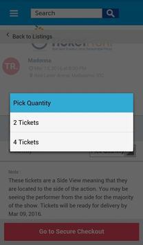 Madonna Tickets screenshot 4