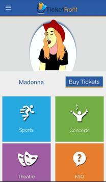 Madonna Tickets screenshot 5