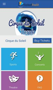 Cirque du Soleil-Toruk Tickets poster