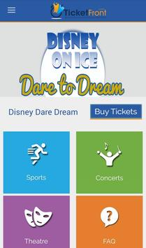 Dare to Dream Tickets screenshot 5