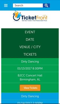 Dirty Dancing Tickets apk screenshot