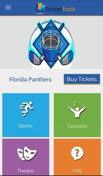Florida Panthers Tickets poster