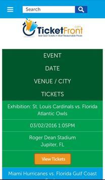 Florida Panthers Tickets apk screenshot