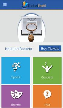 Houston Rockets Tickets apk screenshot